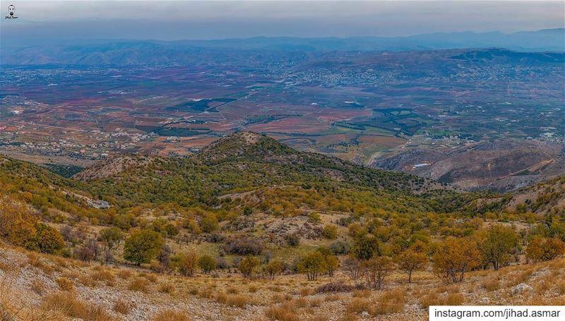 المنظر من فوق عطول أجمل - part 3!!!🤗🤗... (Maaser El Shouf Cedar Reserve محمية ارز معاصر الشوف)