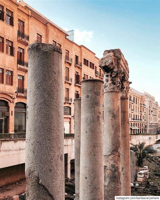The cosmopolitan city Beirut shotoniphone... (Downtown Beirut)