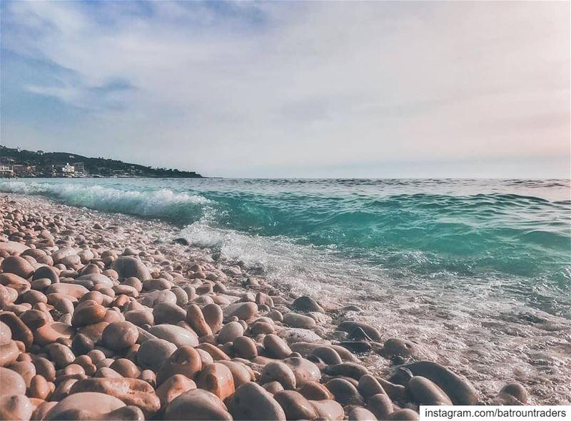batroun kfarabida البترون_سفرة beach sea mediterraneansea ... (Kfar Abida)