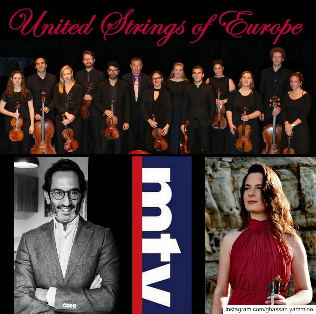 """The United Strings of Europe in """"Musical"""" on Sunday @12:05pm @mtvlebanon... (MTV Lebanon)"""