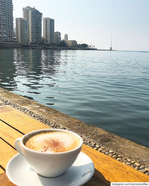 That kind of place where you can got some coffee sundaychill....... (Zuruni aal Baher)
