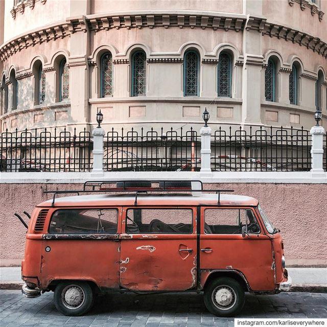Have a VW (very wonderful) Sunday😍 Beirut shotoniphone... (Beirut, Lebanon)