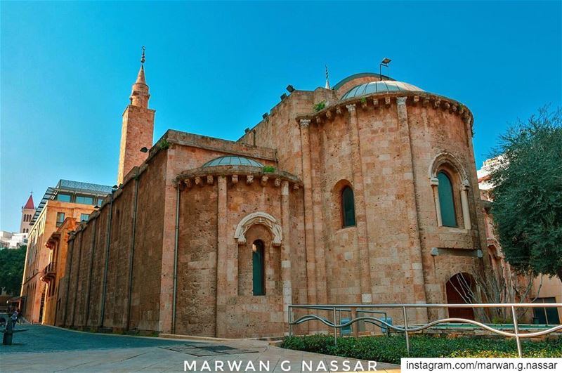 The Al-Omari Grand Mosque, originally the old church of Saint John the... (Beirut, Lebanon)