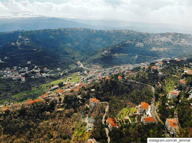 lebanon picoftheday byme dji mavic mavicair landscape ... (Mount Lebanon Governorate)