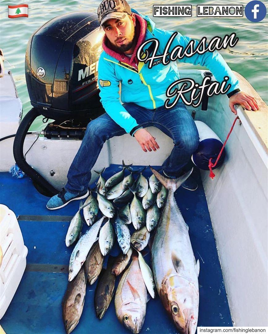 @hwrifai & @fishinglebanon - @instagramfishing @jiggingworld @whatsuplebano (Beirut, Lebanon)