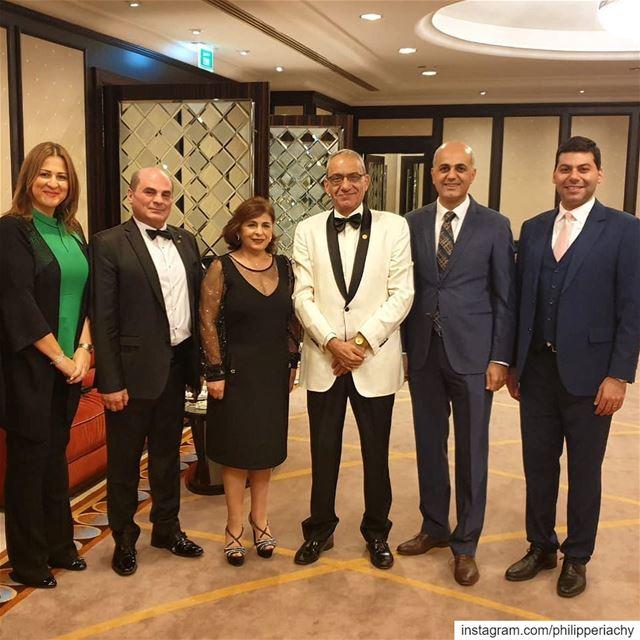 تكريم دكتور ميشال افرام في دبي بجائزة النجمة الذهبية لافضل الممارسات الإدار (Dubai, United Arab Emirates)