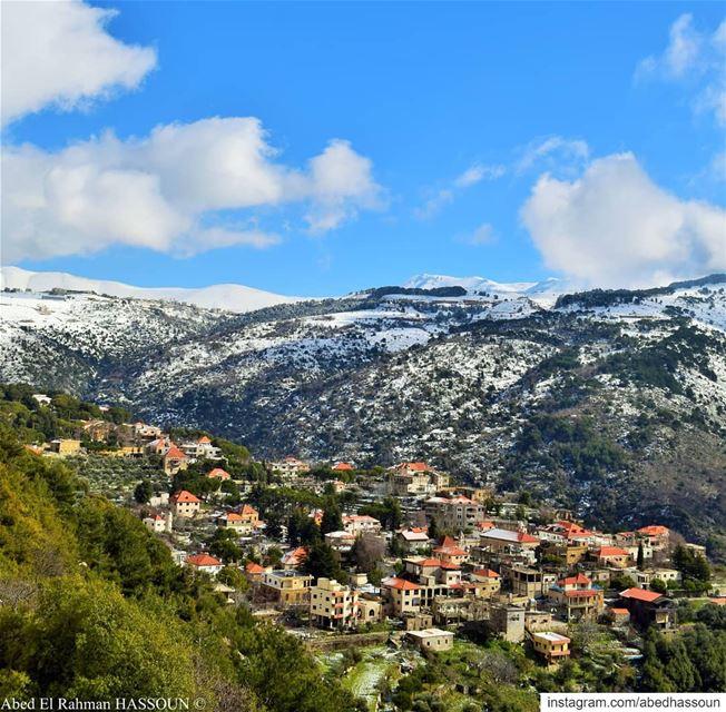 Qnât | قنات............. qnat بشري bcharre bcharri ... (Qnât, Liban-Nord, Lebanon)