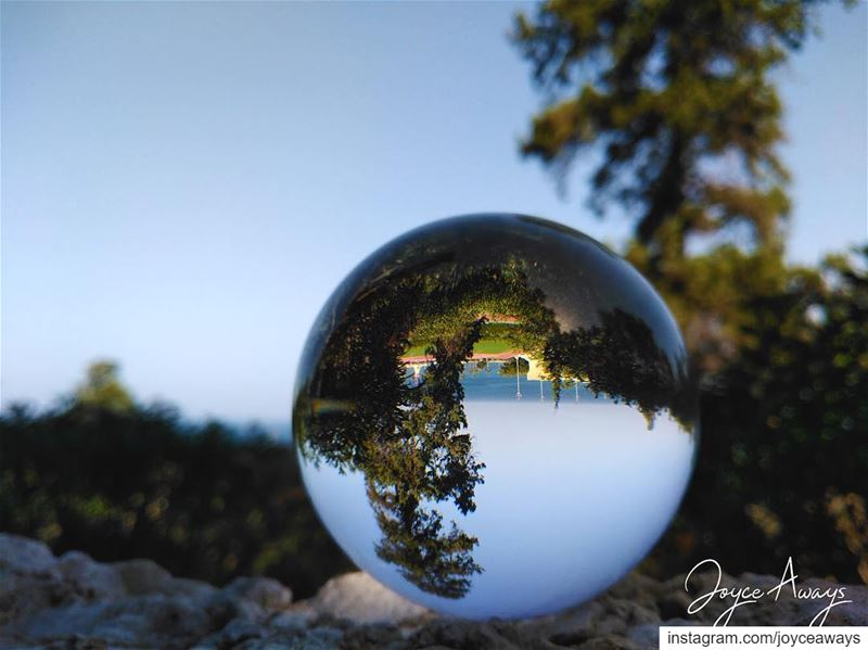 AUB seaview 😍... aub lebanon beirut mylebanon lensball ... (American University of Beirut (AUB))