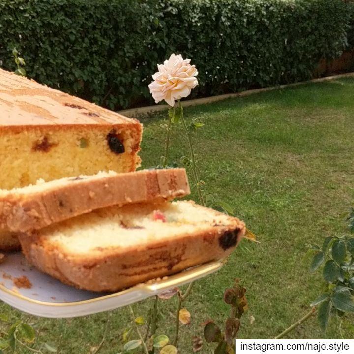 goodmorning cake homemade cakewithraisins sweet lebanesesweets ...