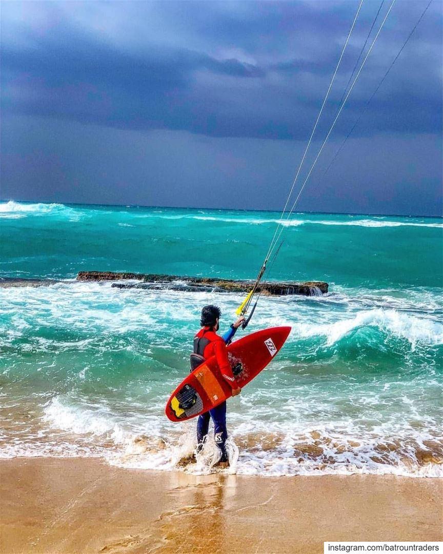 batroun البترون_سفرة kiteboarding kitesurfing watersports ... (Batroûn)
