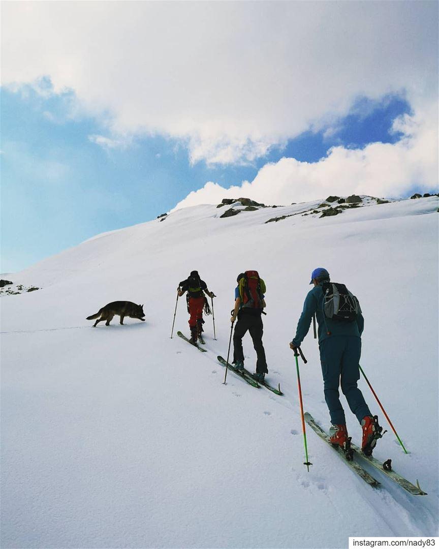 what's behind that hill?... backcountryskiing skitouring lebanon...