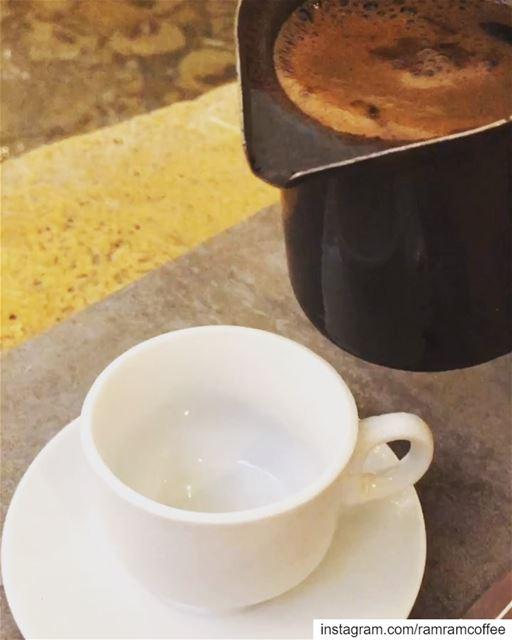 تاري القمر 🌙غاوي السهر 💫✨... ramramcoffee turkishcoffee ... (Loris)