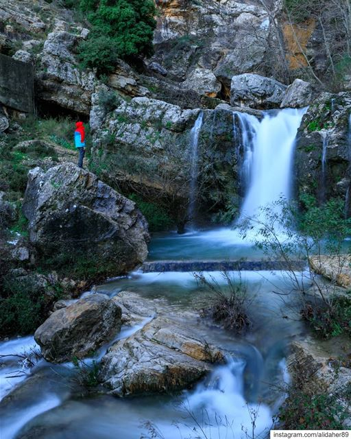 Keep close to nature's heart 🏞.... waterfall lake river paradise... (Jezzine Region)