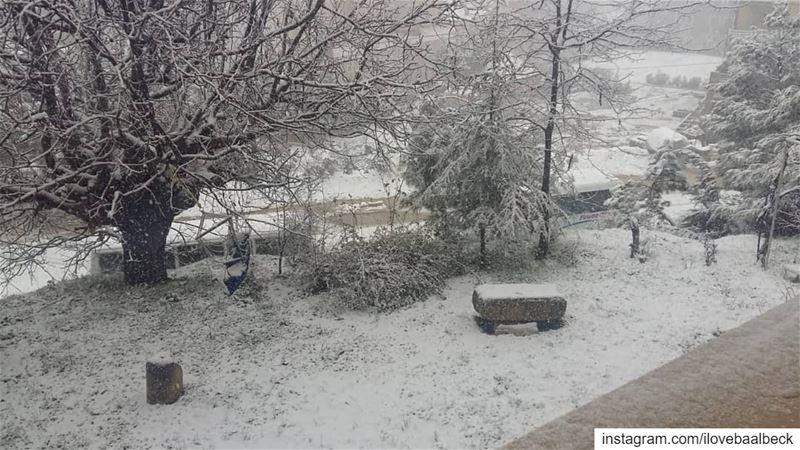 Baalbeck IloveBaalbeck Lebanon livelovebaalbeck livelovelebanon snow...