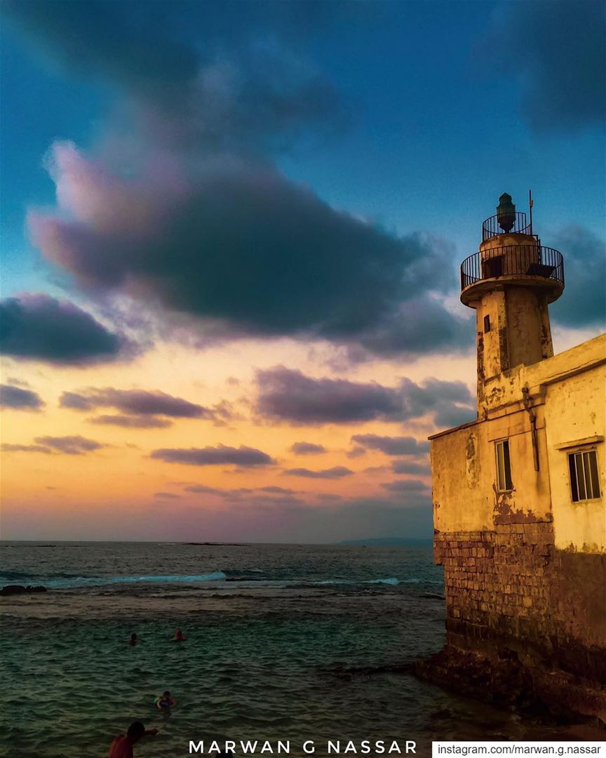 Put light against light, you have nothing. Put dark against dark, you have... (Tyre, Lebanon)