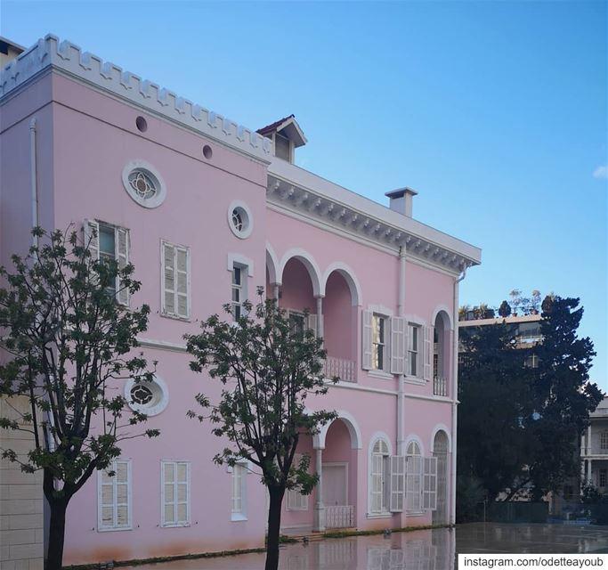 lebanonspotlights insta_lebanon nationalart lebanonhouses ... (Villa Rose)