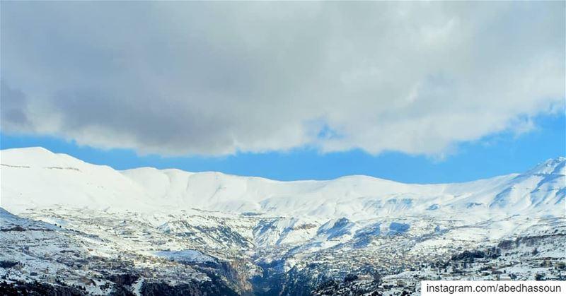 Amazing landscape ❄❄❄.............. LiveLoveBcharri بشري ... (Bcharri, Liban-Nord, Lebanon)