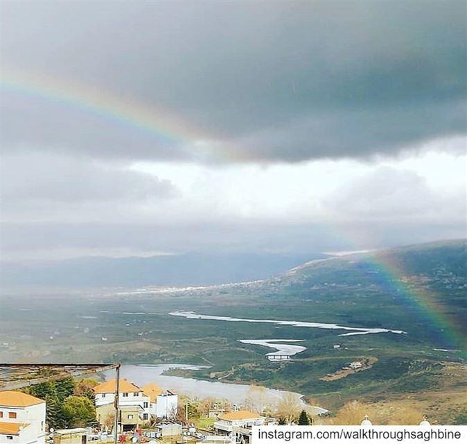 Repost @eliabk picoftheday sky likeforlikes beirut water winter ... (Saghbîne, Béqaa, Lebanon)