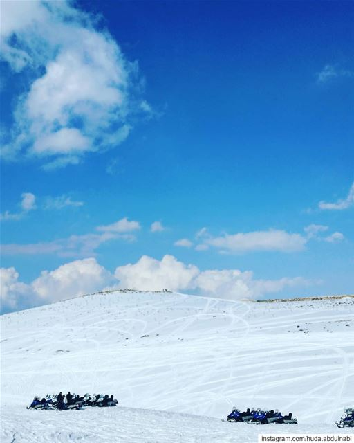 Hi 💙 Enjoy your weekend 🌼 lebanon snow mountains faraya kfardebian blue...