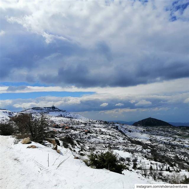 ehden lebanon snow landscapephotography ... (Ehden, Lebanon)