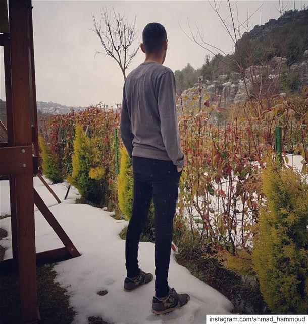 underthesnow winter wintertime mountlebanon feitroun ... (Feitroun, Mont-Liban, Lebanon)