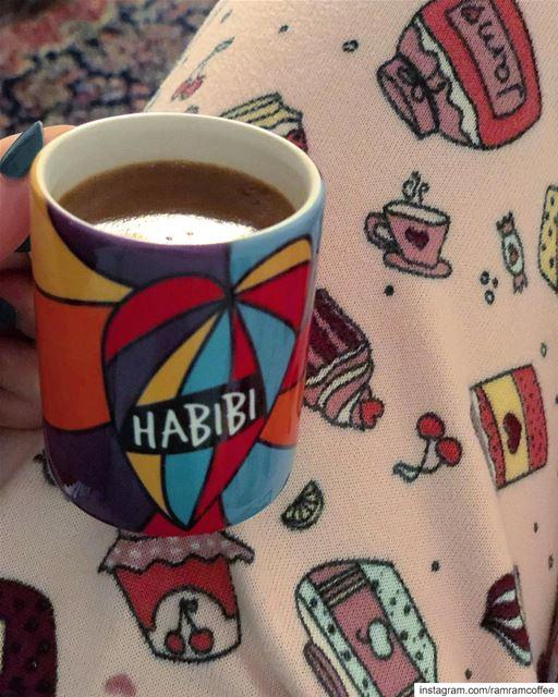 habibi 💙... ramramcoffee turkishcoffee butfirstcoffee ... (Ra'S Bayrut, Beyrouth, Lebanon)