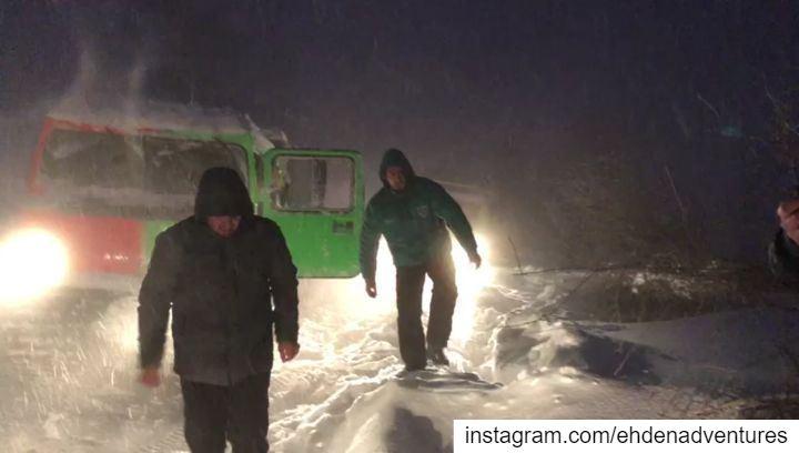 bv206 rescue snow thenorthface mikesportleb allterrainvehicle ... (Ehden, Lebanon)