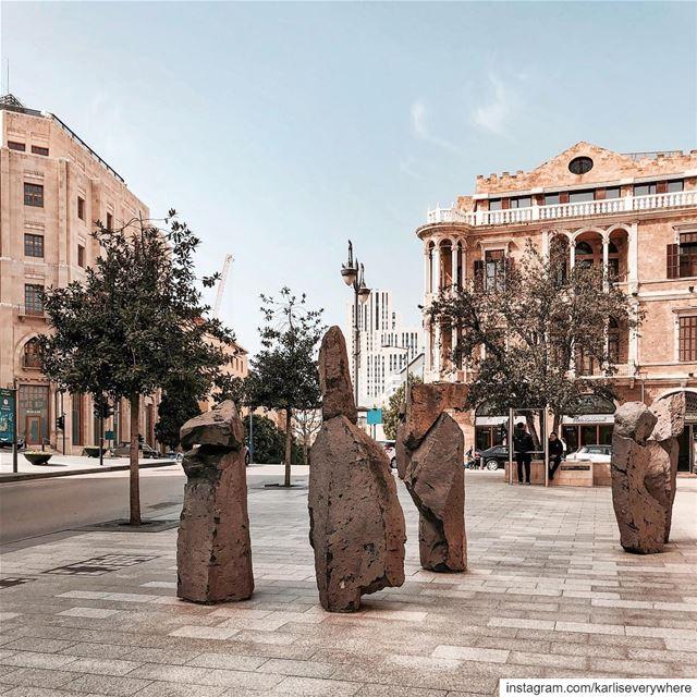 Beirut's Stonehenge 🗿 Beirut urbex... (Beirut, Lebanon)