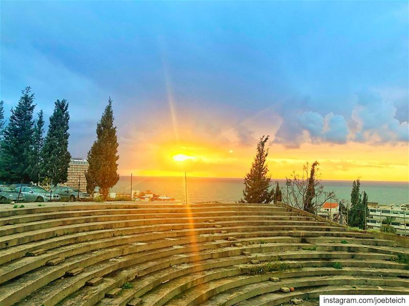 My sun sets to rise again livelovebeirut ig_lebanon sunset photography... (As Safra', Mont-Liban, Lebanon)