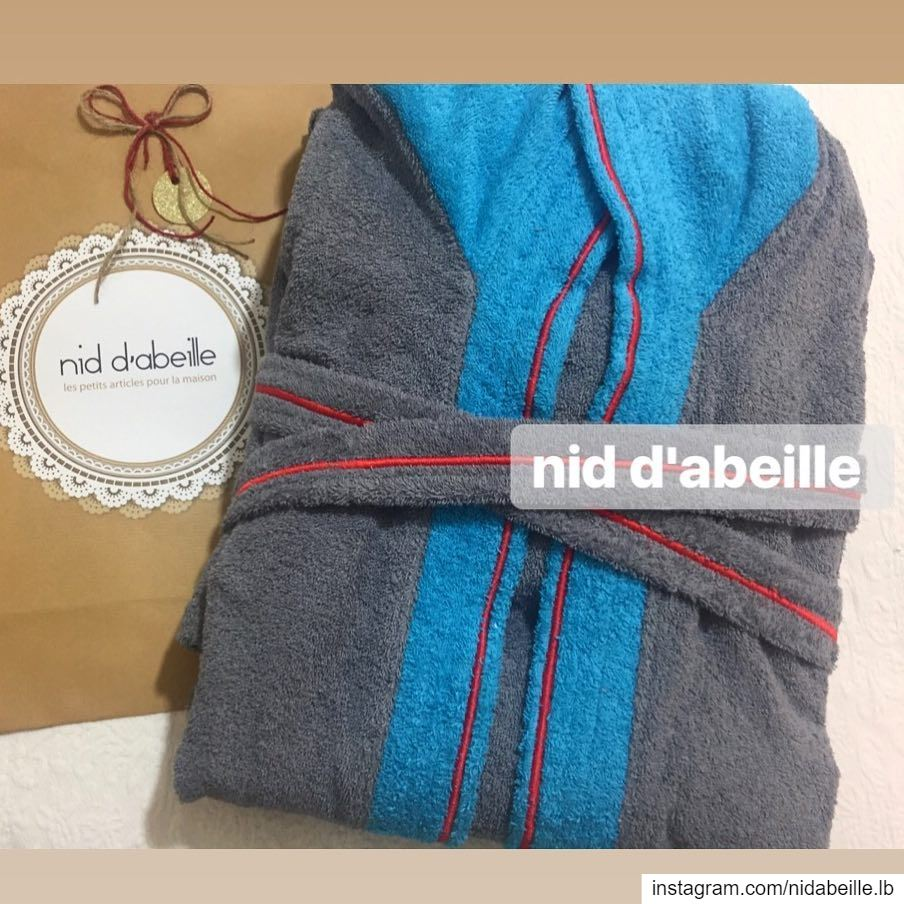 Home linen! Write it on fabric by nid d'abeille bathrobe towel bedding ...