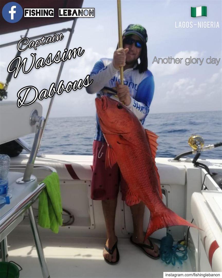 @wassimdab_and_3_others & @fishinglebanon - @instagramfishing @jiggingworld (Lagos, Nigeria)