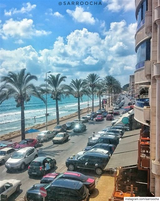 A typical day at  Sour takenbyme  ptk_Lebanon  visitlebanon ... (Tyre, Lebanon)
