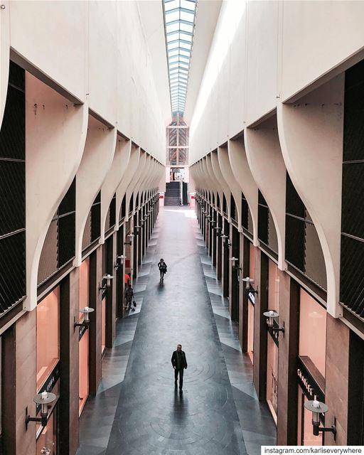 Every hallway is a runway🕴🏻 Beirut shotoniphone... (Beirut, Lebanon)