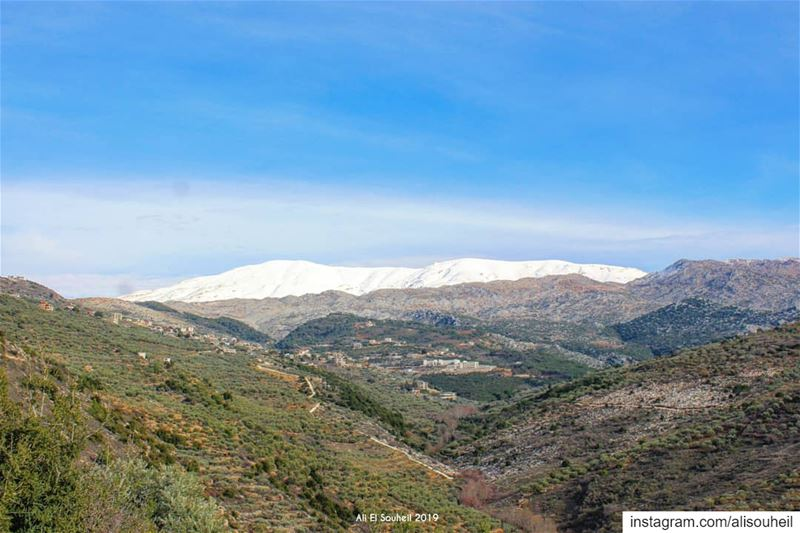 tb  rachayya  southlebanon  snow  nature  mountains  hiking   colorful ...