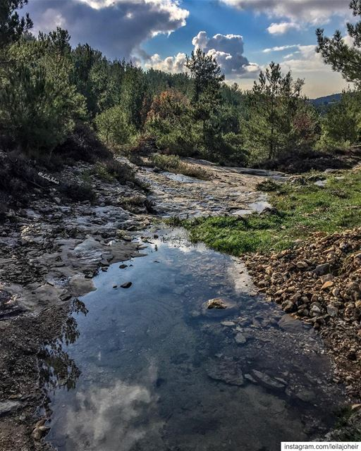 ❤️... motherearth Gaia livelovechouf hiking hike myescape serenity ... (Lebanon)