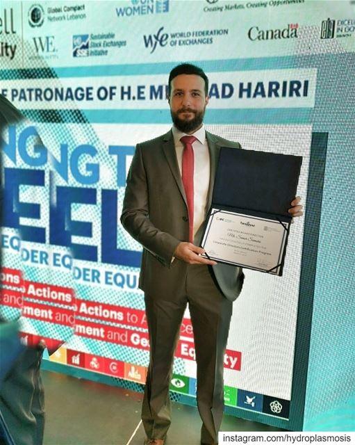 Certified Board Directorصار فينا نقعد ع مجلس الإدارة 😊💪........... (Le Yacht Club - Beirut)