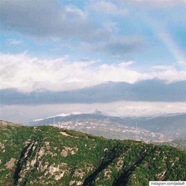 Mother nature🌈🗻 swipeleft natgeoadventure natgeocreative ... (Bikfaïya, Mont-Liban, Lebanon)