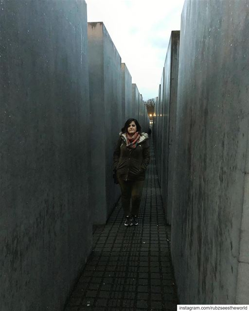 Berlin, Germany: the Jewish Memorial gives an unsettling vibe. Its random... (Jewish Memorial)