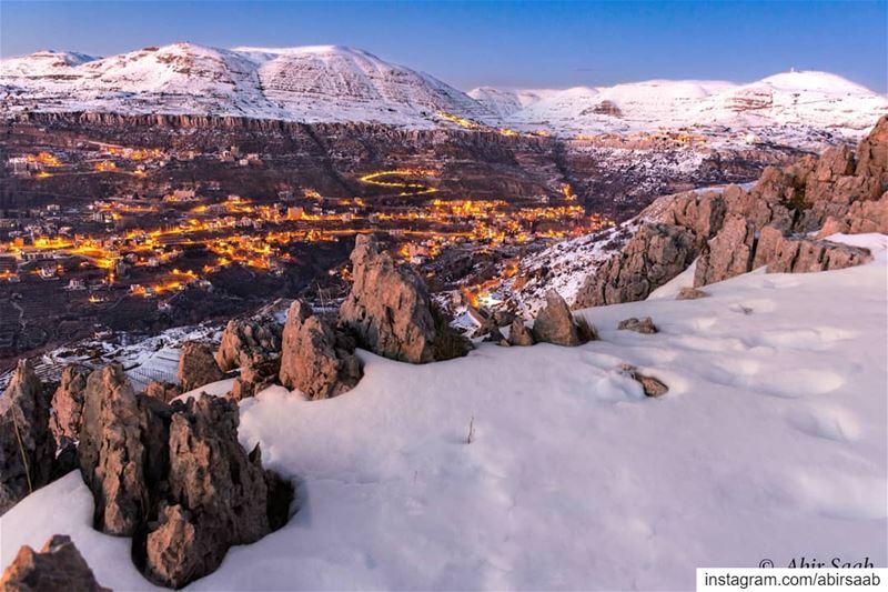 lebanon snowday snow cap livelovebeirut ig_lebanon insta_lebanon ... (Faqra)