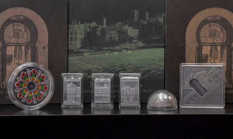 Set of Metal Coins for AUB 150th Anniversary