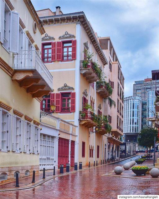 آخر ايّام الشتويّة 😍☔️♥️________________________________________... (El Saifi, Beyrouth, Lebanon)