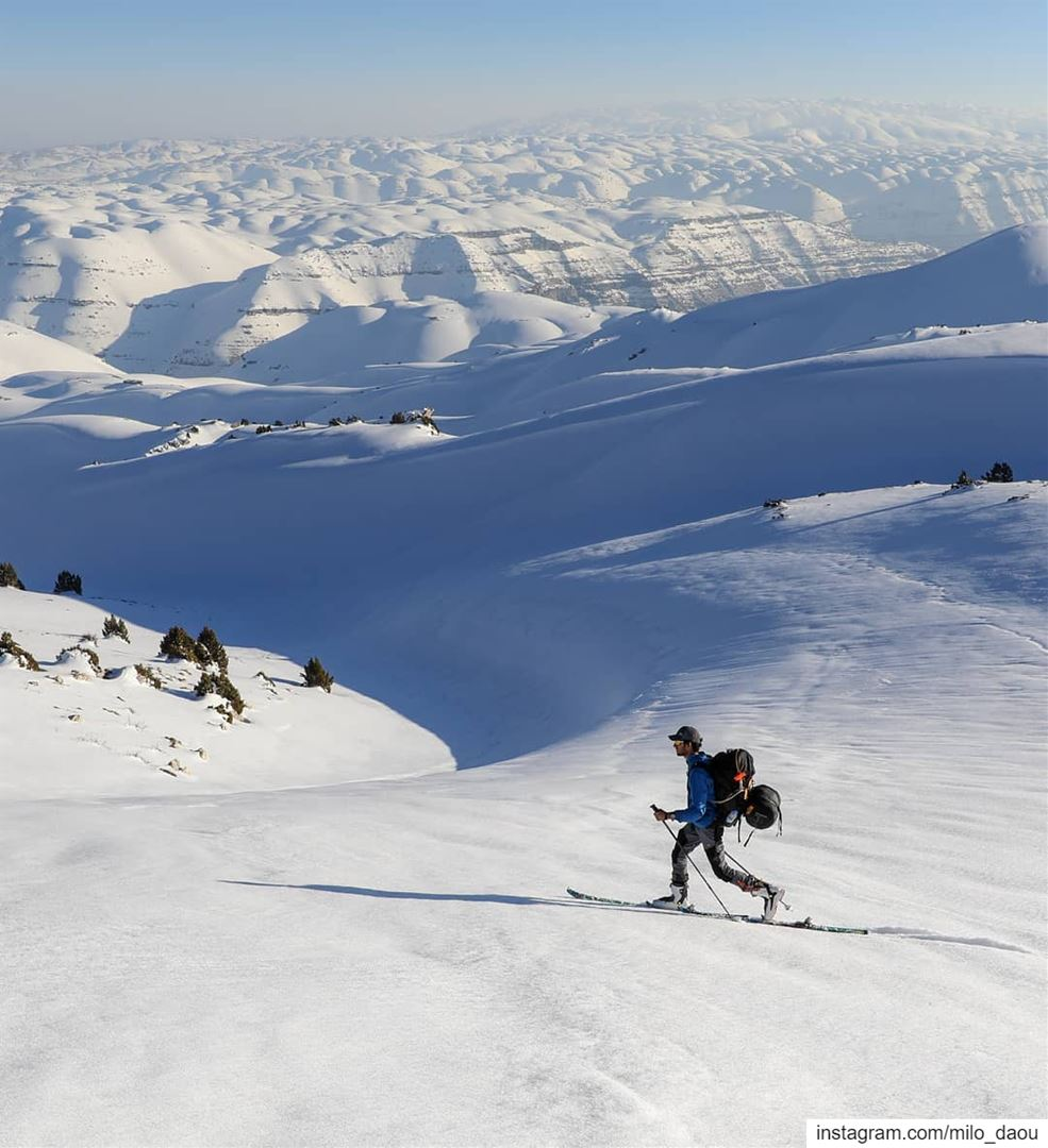 Endless winter without the hope of spring. ❄⛷🎿 skitouring thenorthface ...