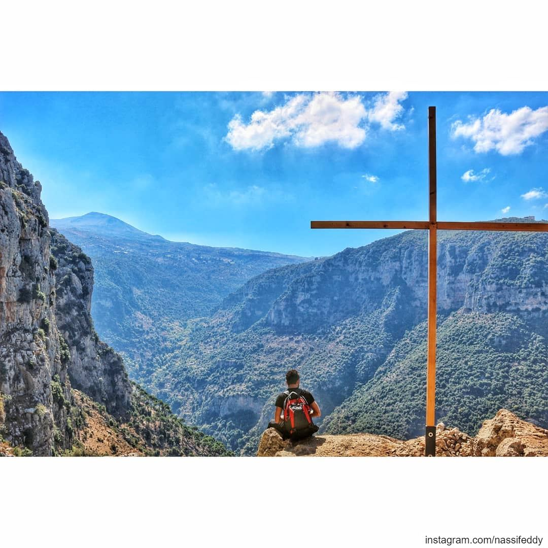 Appreciate the view in the valley! livelovelebanon  lebanonadventure ... (Wadi Annoubin)