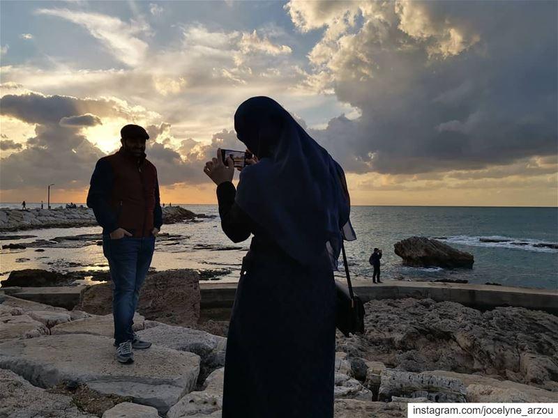 Saving memories...... savingmemories takingpictures posingforaphoto ... (Byblos, Lebanon)