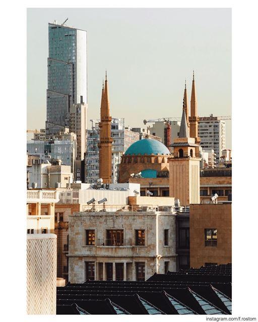 Dear Beirut it's never a goodbye ❤️ till we meet... (Beirut, Lebanon)