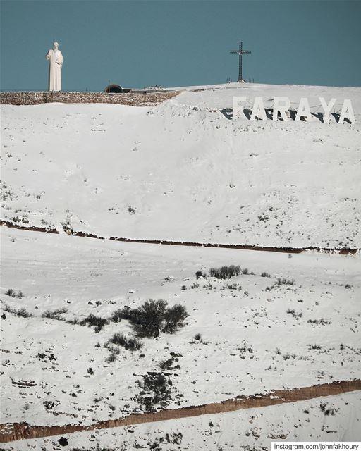 Warm summits 🗻 (Faraya, Mont-Liban, Lebanon)