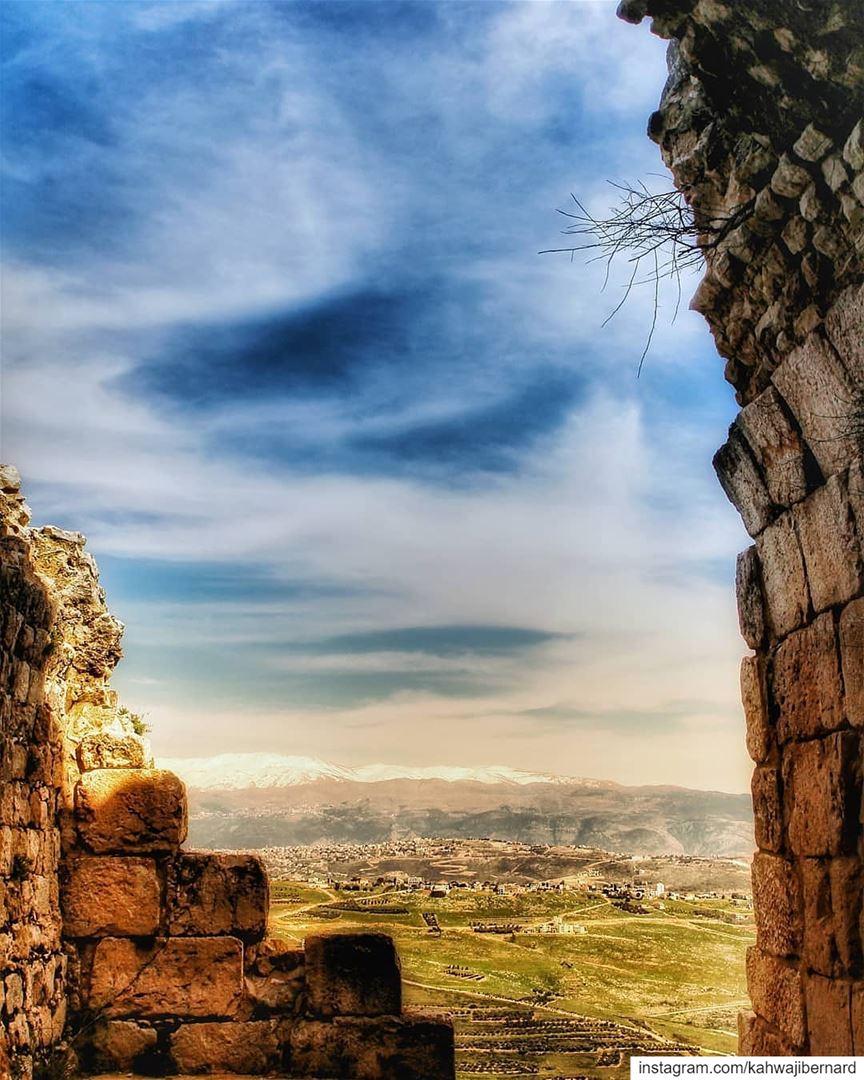 Beaufort fortress_arnoun lebanon livelovebeirut ig_lebanon instalebanon... (Arnoûn, Al Janub, Lebanon)