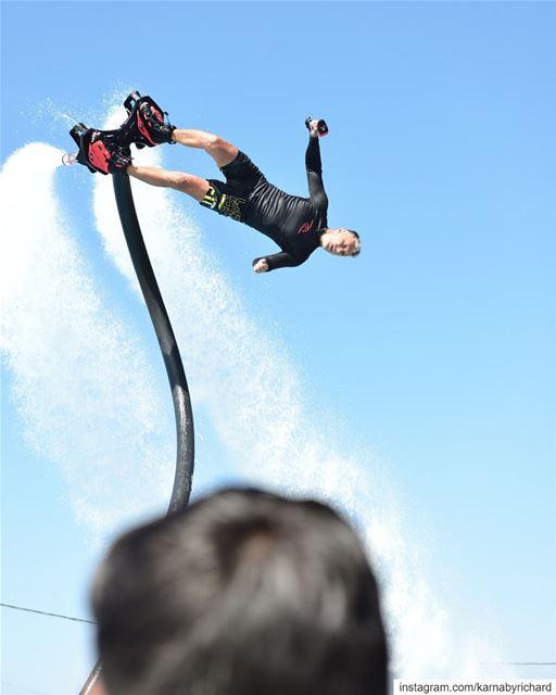 Tbt solemzaarour flyboard flyboardlebanon watersports ...