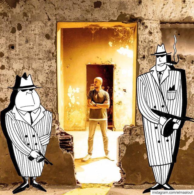 - 💥 Bang Bang 💥- ..... liveloveart art_help mafia positivevibes ... (Beirut, Lebanon)