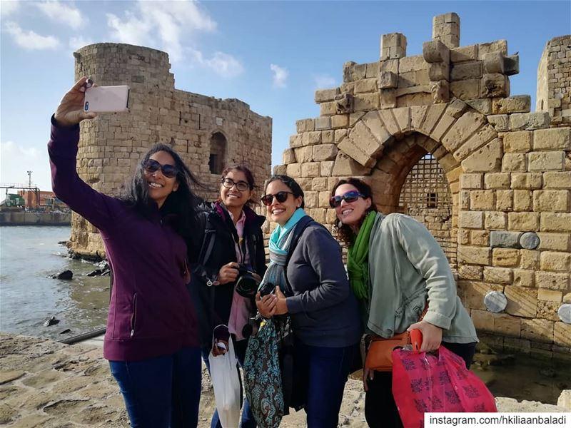 Selfie Time! saida sidon... HkiliAanBaladi LebanonStories tourism ...